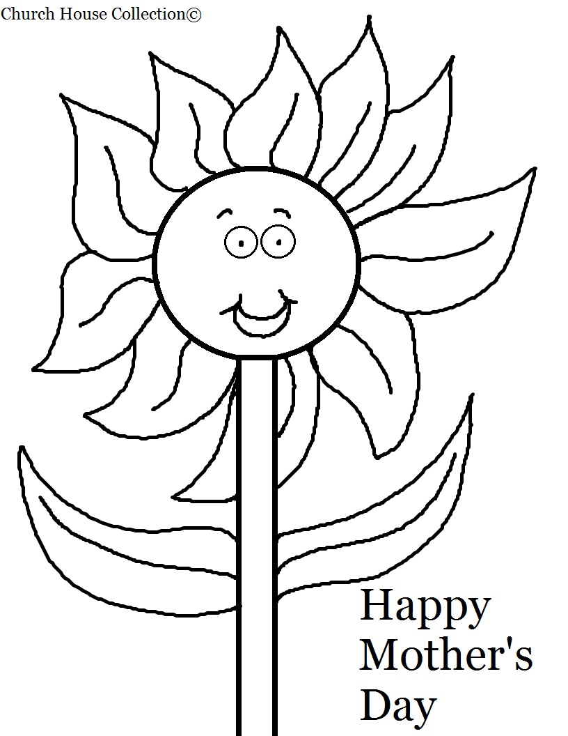 Coloring Pages For Children S Day : Church house collection april