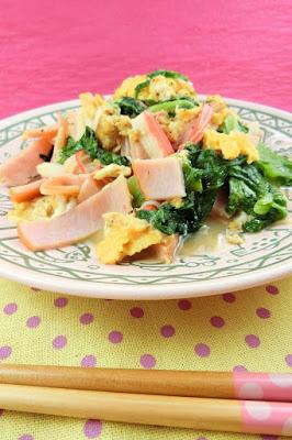 サラダ以外にもサニーレタスを食べよう!中華風卵の塩炒めレシピ