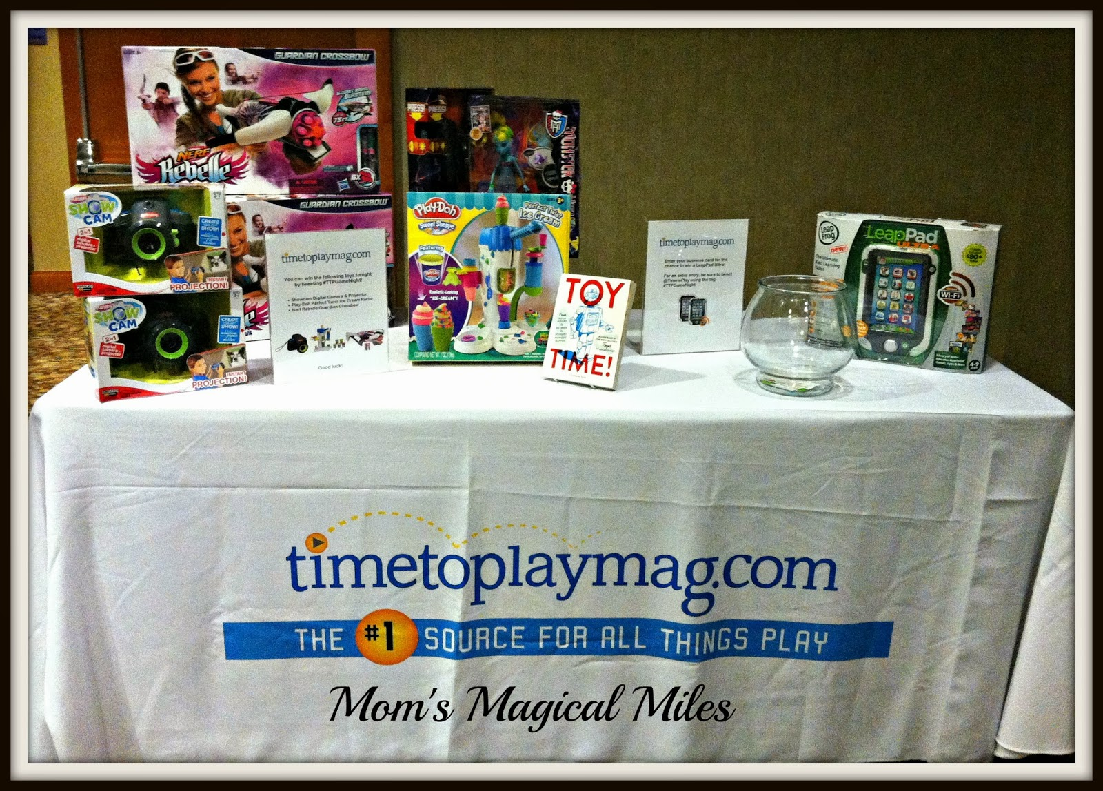 Mom's Magical Miles: Type A Conference : Time To Play Magazine