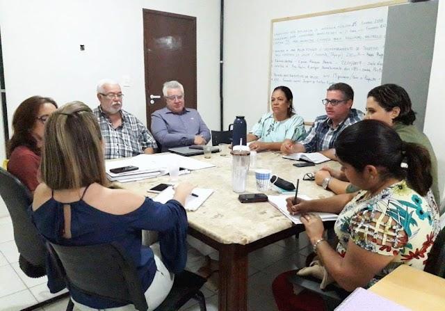 Secretaria de Saúde reúne equipes para definir as metas para 2019