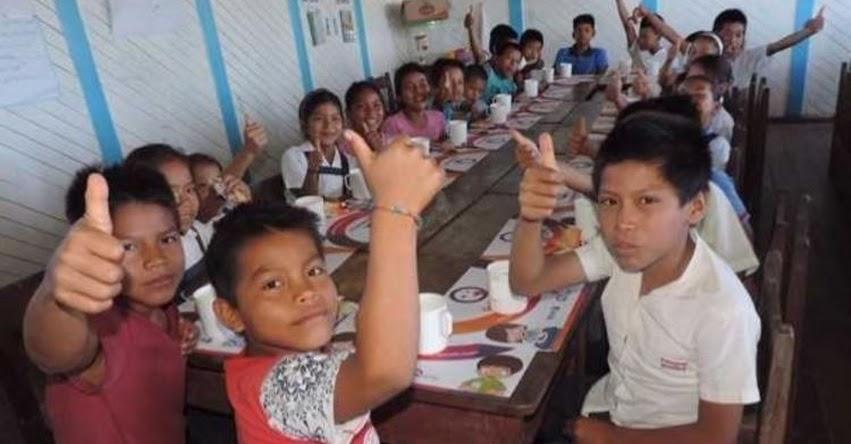 Qali Warma incorpora alimentos oriundos para escolares en la Amazonía - www.qaliwarma.gob.pe