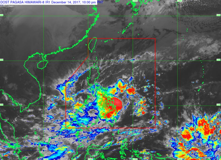 'Bagyong Urduja' PAGASA weather update December 14, 2017
