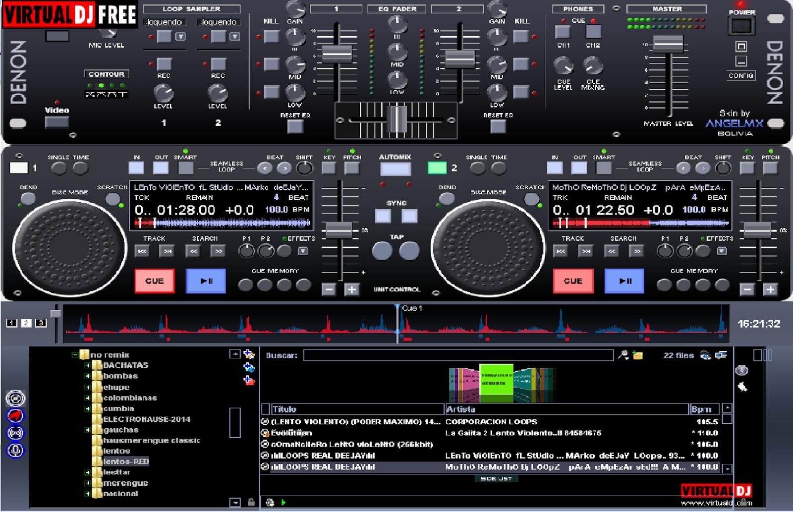 tienda virtual lesttarmc: Skins para Virtual dj Virtual Dj Skins Denon