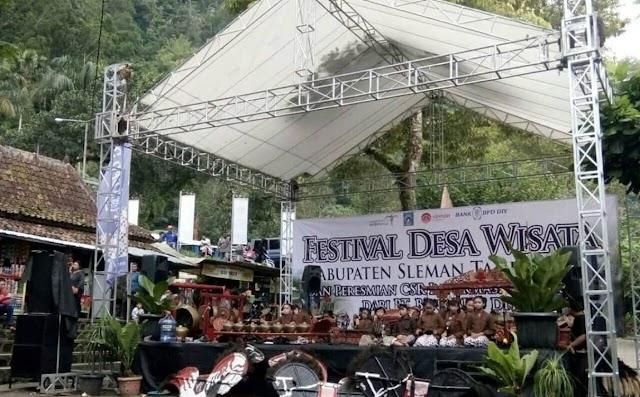 Aksi Saka Pariwisata Sleman dalam Festival Desa Wisata Sleman 2017