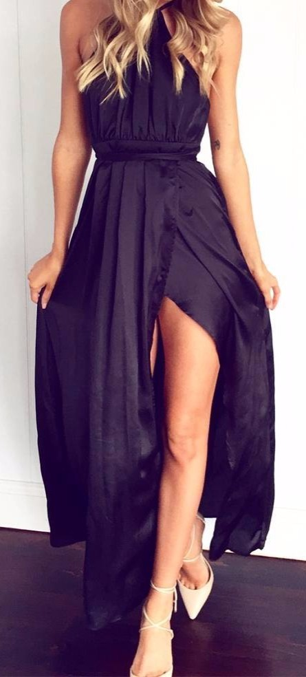 summer date night maxi: chic dress obsession