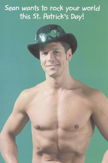 Happy St. Patrick's Day From Sean Click here