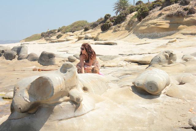 San Diego am Strand