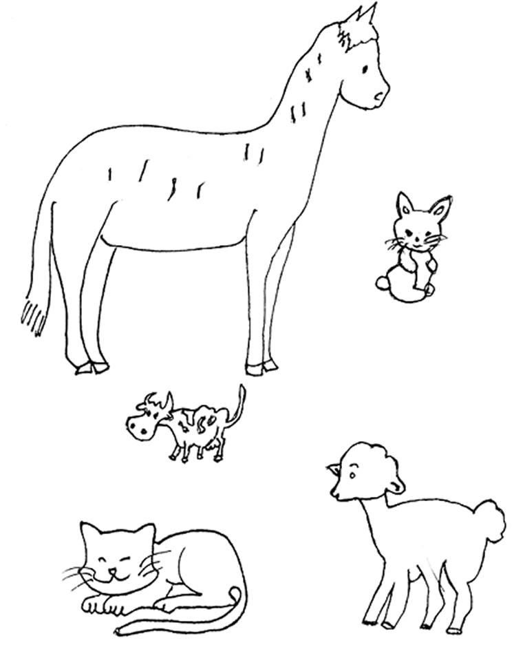 Imagenes Para Pintar De Animales Herbivoros