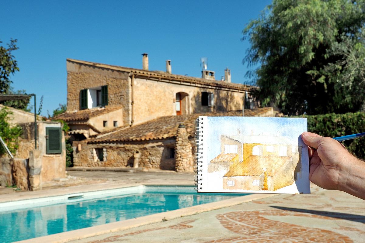 Finca Hotel Agroturismo S Horabaixa Mallorca Fee Ist Mein Name