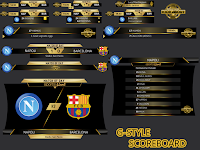 PES 2017 Scoreboard Pack dari G-Style