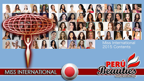 En vivo Miss International 2015 Live Stream