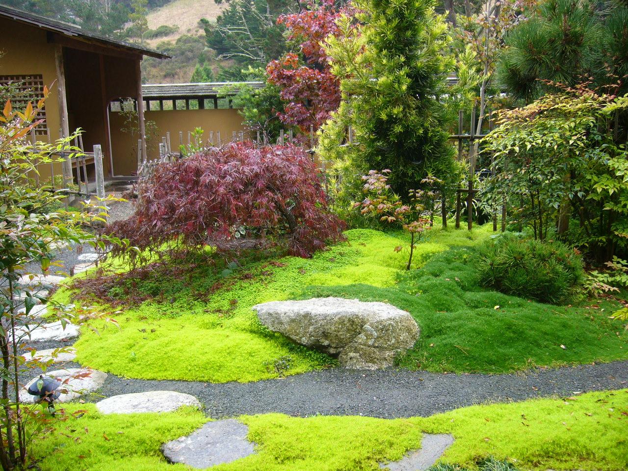 charming zen garden | Japanese Zen Garden: Japanese Tea House