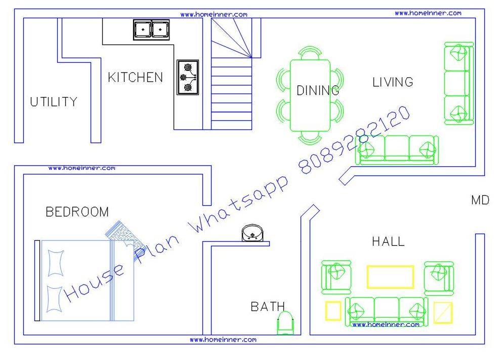 Home Design Plans 3 bedroom home design plans astonishing on bedroom within apartmenthouse plans 2 Low Cost Villa Kerala House Plan