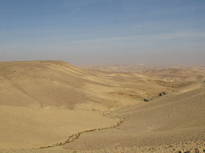 The Judaean wilderness