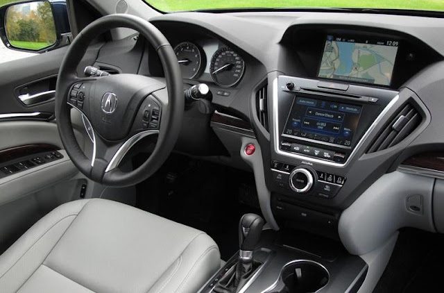 2017 Acura RLX Interior Redesign