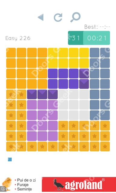 Cheats, Walkthrough for Blocks and Shapes Level 226