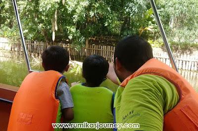 safari river cruise di faunaland ancol jakarta