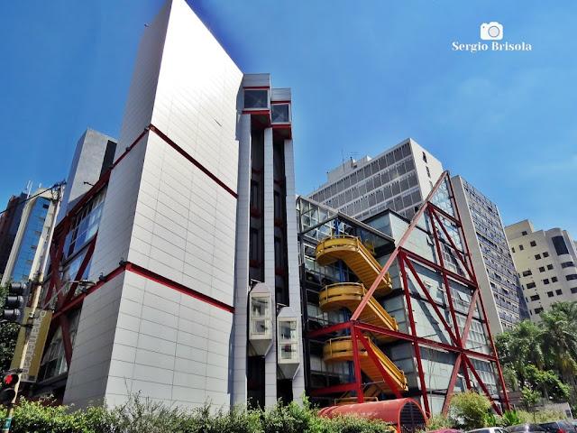Vista ampla da Escola Panamericana de Arte - Higienópolis - São Paulo