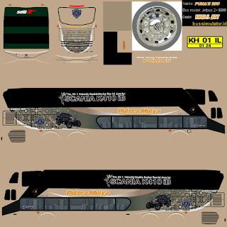 Download Livery Bus Putra Mulya
