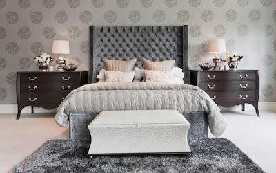 motif wallpaper kamar tidur terbaru