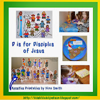 http://www.biblefunforkids.com/2014/03/preschool-alphabet-d-is-for-disciples.html