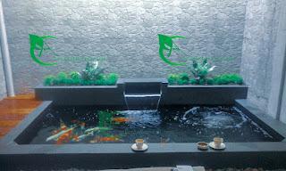 Jasa dan renovasi kolam koi minimalis