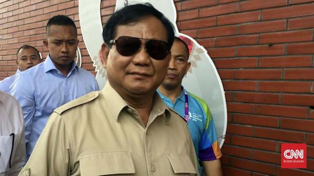 Kunjungi Markas Rizieq, Prabowo Diminta Selamatkan Bangsa