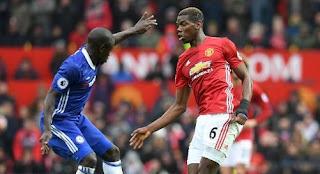 Manchester United vs Chelsea: Conte Berharap Mourinho Kembali Cadangkan Pogba