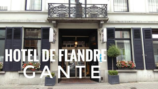 Hotel De Flandre, alojamiento en el centro de Gante