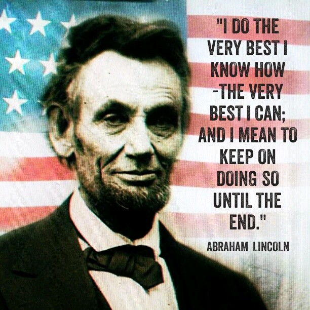 Abraham Lincoln Famous Quotes: Inspirational Quotes