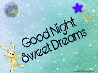 Sweet cute good night