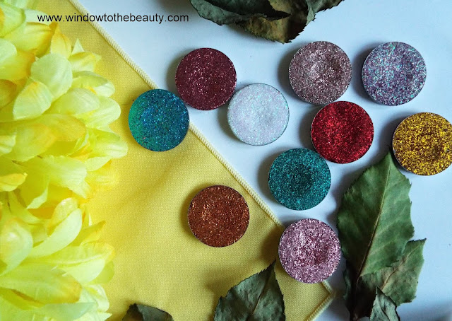 pressed glitters opinion how to apply