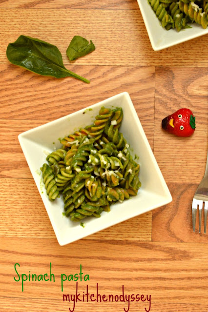 spinach pasta recipe2