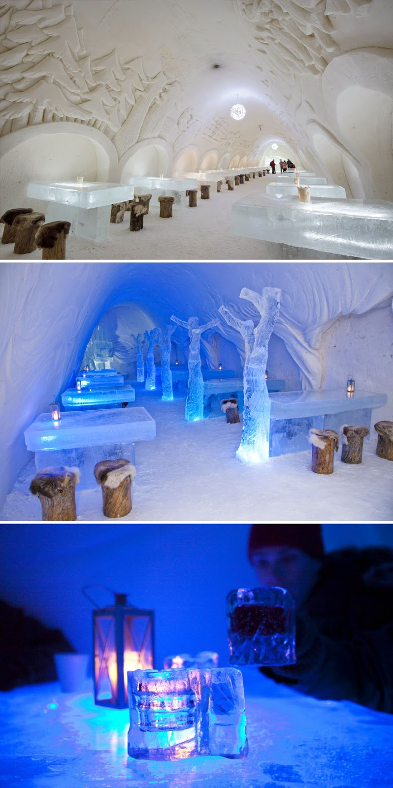 35 Of The World's Most Amazing Restaurants To Eat In Before You Die - Dine Surrounded By Snow And Ice, The Snowcastle Of Kemi, Kemi, Finland
