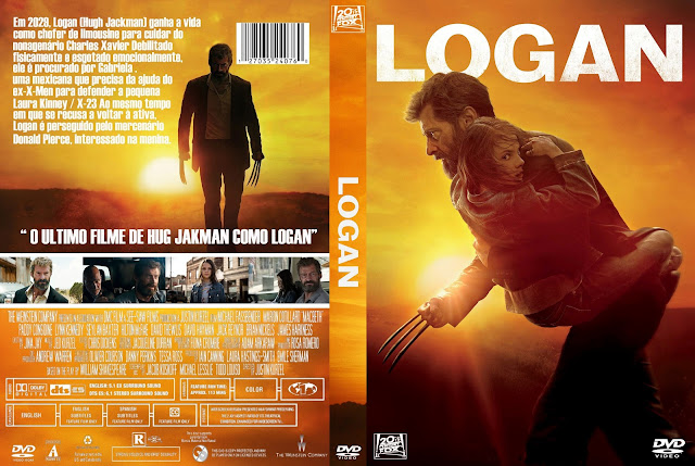 Capa DVD Logan