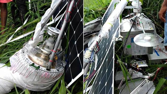 Fotos reais de satélites que caíram presos a balões