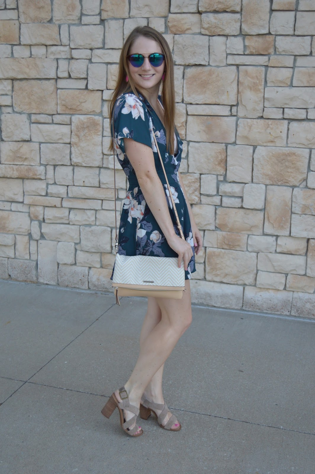 nordstrom anniversary sale haul | rompers with block heels | summer lookbook | cute outfit ideas for summer | summer outfit ideas | summer ootw | july ootw | a memory of us | floral print rompers | rompers from the nordstrom anniversary sale haul | kansas city fashion blog |