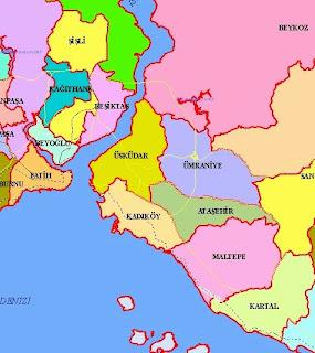 kadıköy haritası ile ilgili görsel sonucu