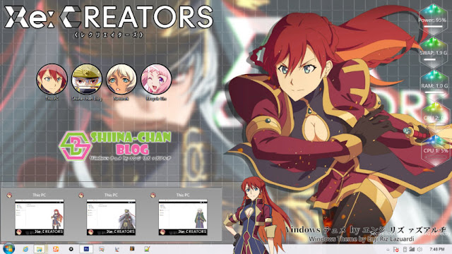 Windows 8/8.1 Theme RE: Creators by Enji Riz