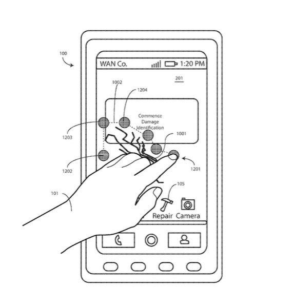 Điện thoại vỡ màn hình có thể vá được nhờ bằng sáng chế này của Motorola