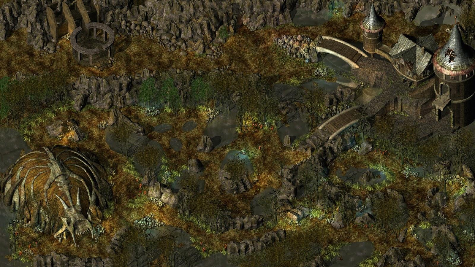 Lilura1 Area Map Tis Extractions Baldur S Gate 2 Icewind