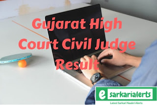 Gujarat High Court Civil Judge Result 2017