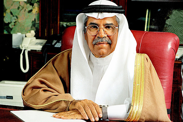 Image Attribute: His Excellency Ali I. Al-Naimi. Photo courtesy of Ministry of Petroleum and Mineral Resources,  Kingdom of Saudi Arabia