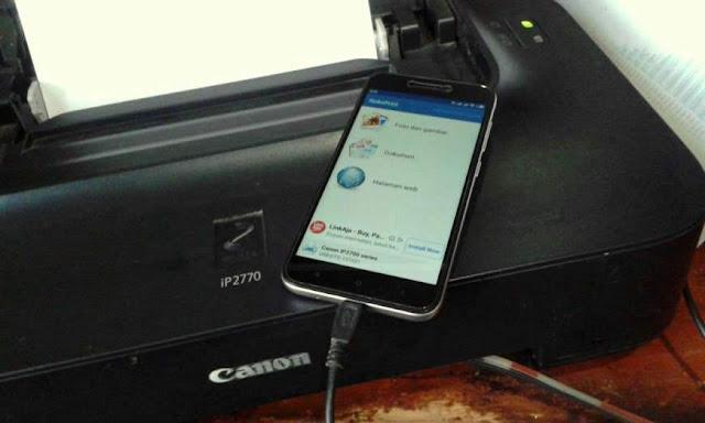Cara Print Dari HP Android Dengan OTG