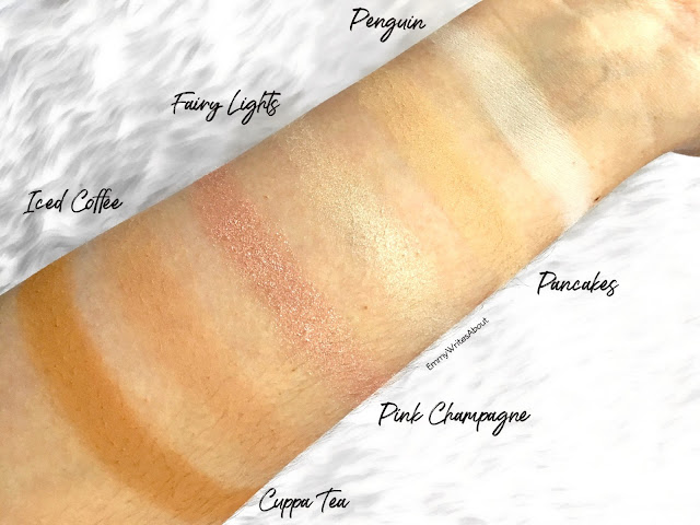 Makeup Revolution Soph X Eyeshadow Palette Swatches