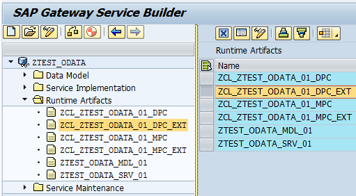 how to implement Deep Insert in SAP backend OData service