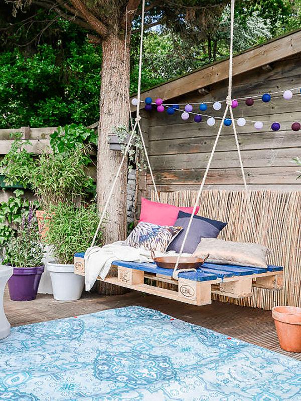 10 balancines perfectos para jardin y terraza cocochicdeco - Balancines para jardin ...