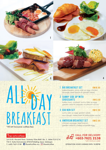 All Day Breakfast Menu
