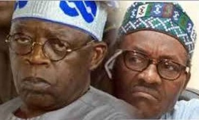 Tinubu Disappears as Buhari Storms Lagos to Commission Naval Ships