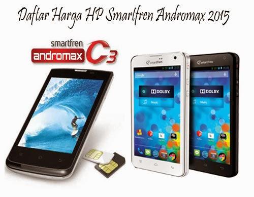 Harga HP Smartfren Andromax Terbaru 2015
